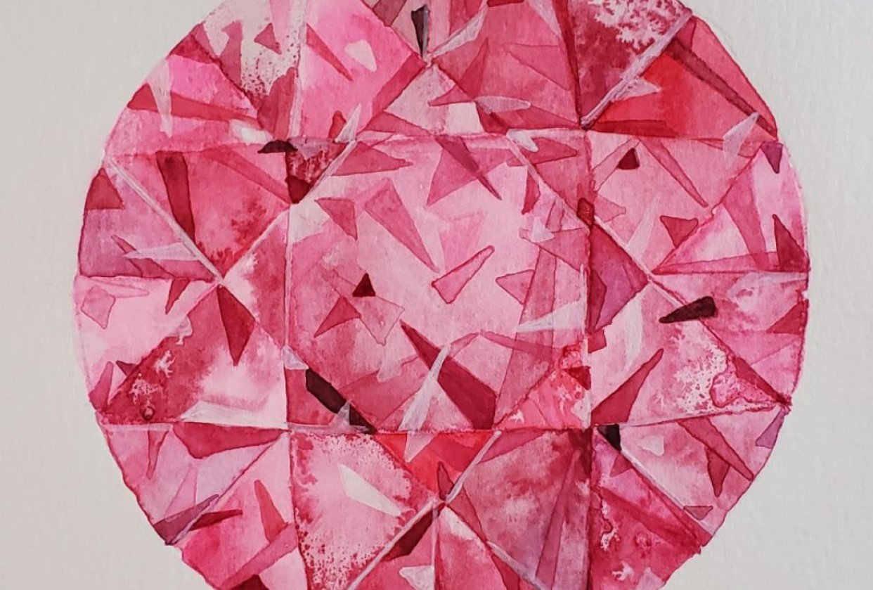 Pink Sapphire - student project