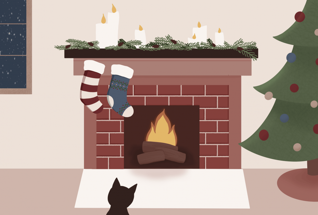 Holiday Illustration - student project