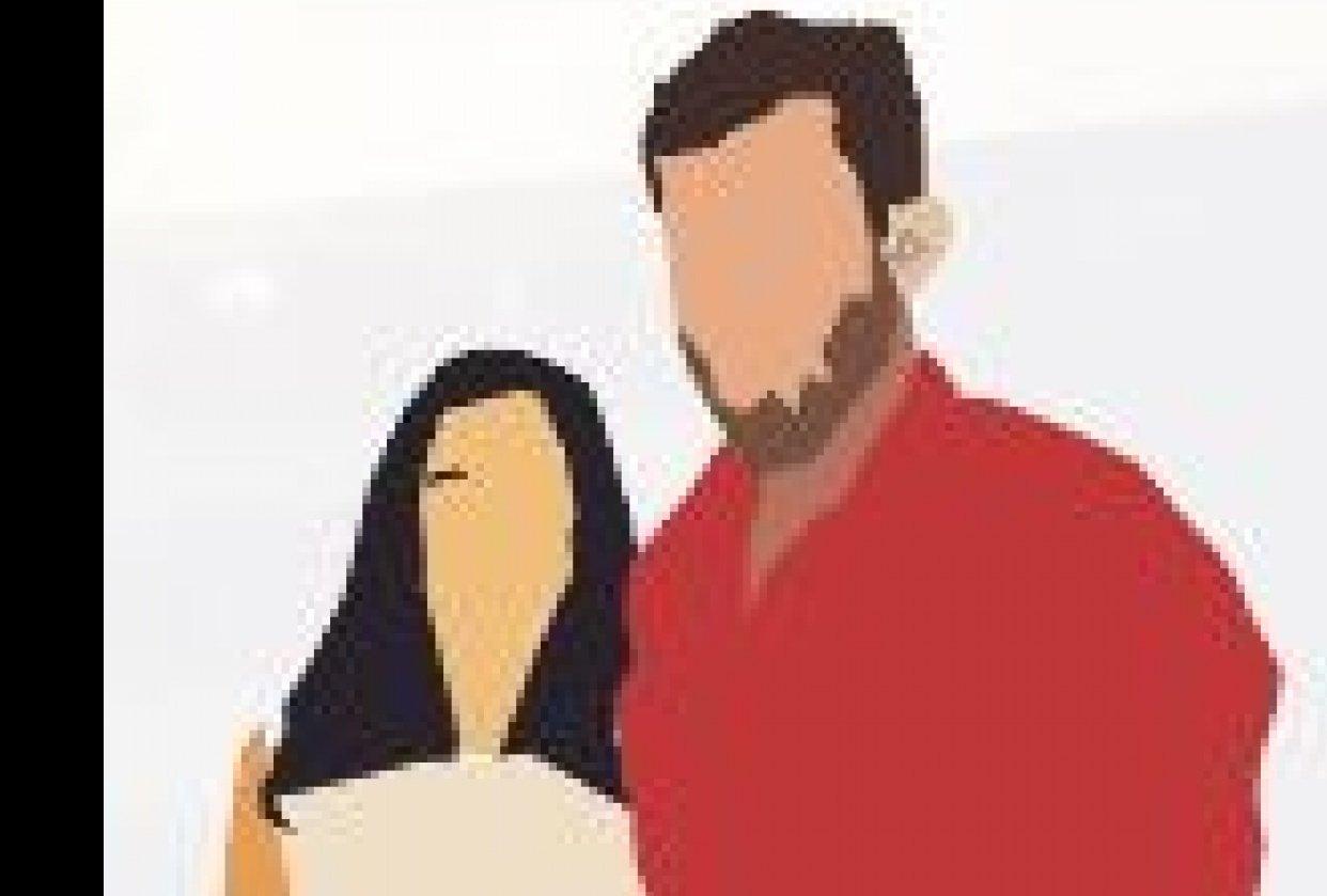 custom portrait in Illustrator - student project