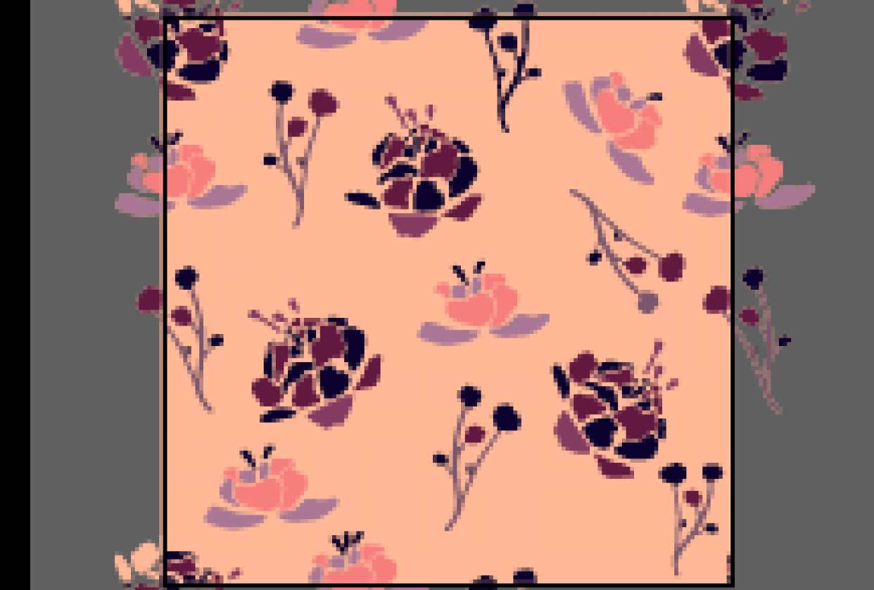 Floral Pattern - student project