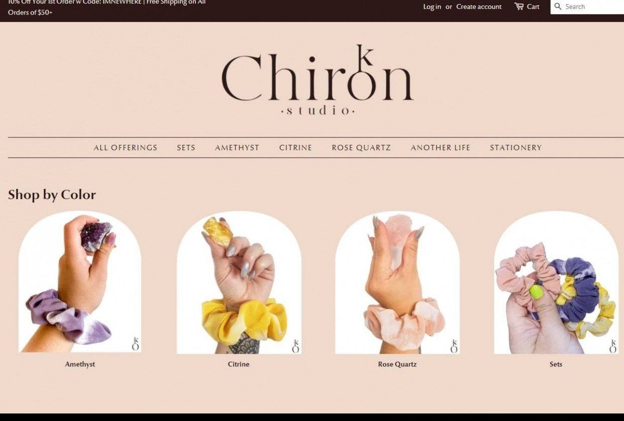 Chiron Studio - student project