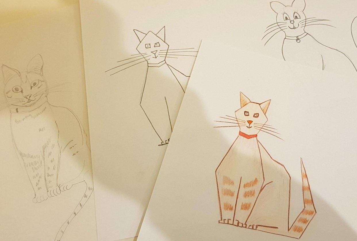 angular cat - student project