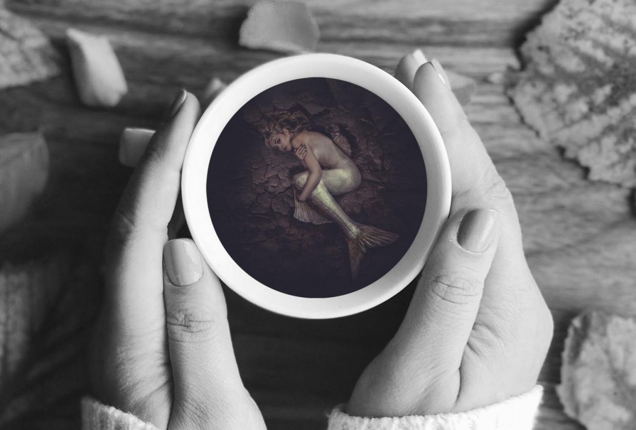Mermaid in a Teacup - student project