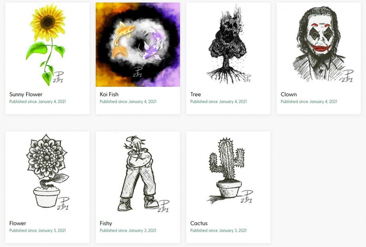 Arte Pictura - student project
