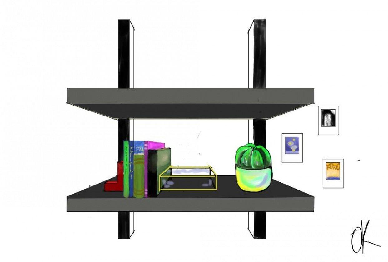 my shelf ~ - student project