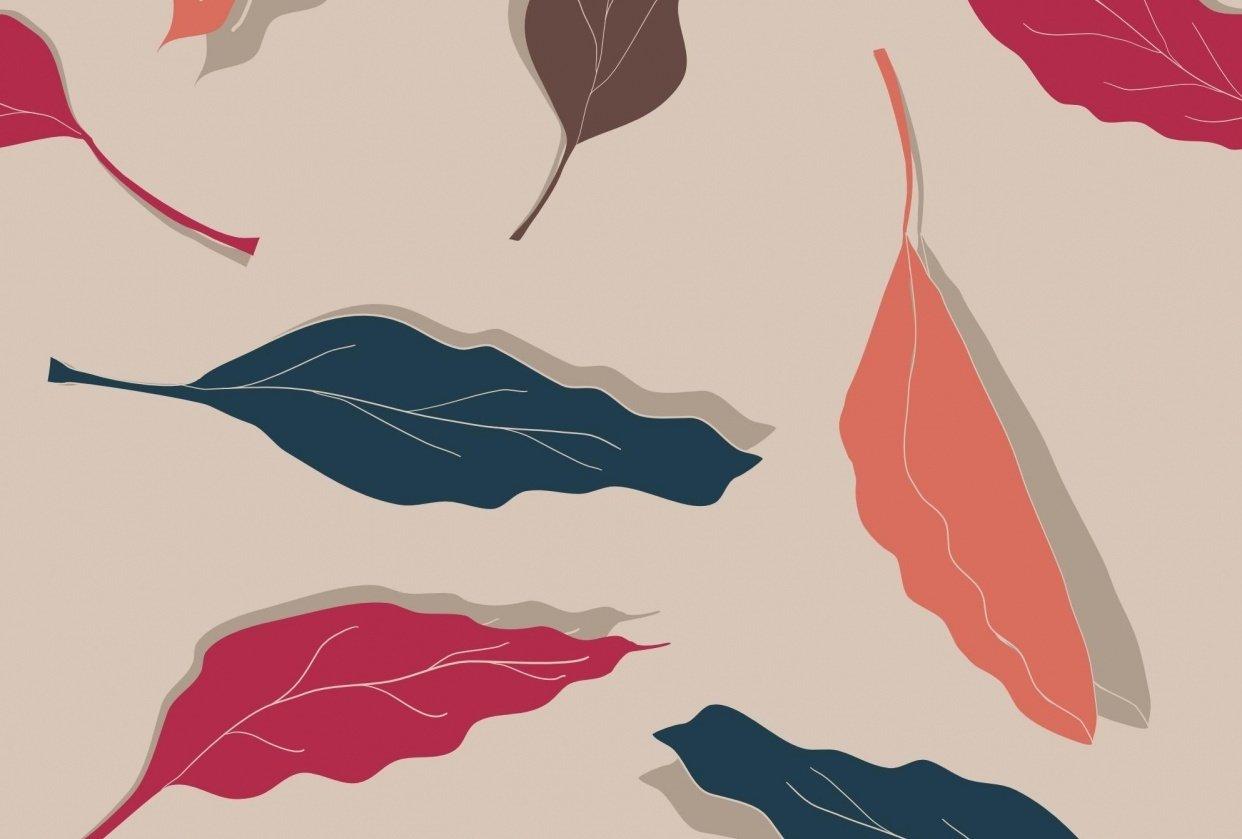 Levitating Leaves & Purple Flamingos - student project