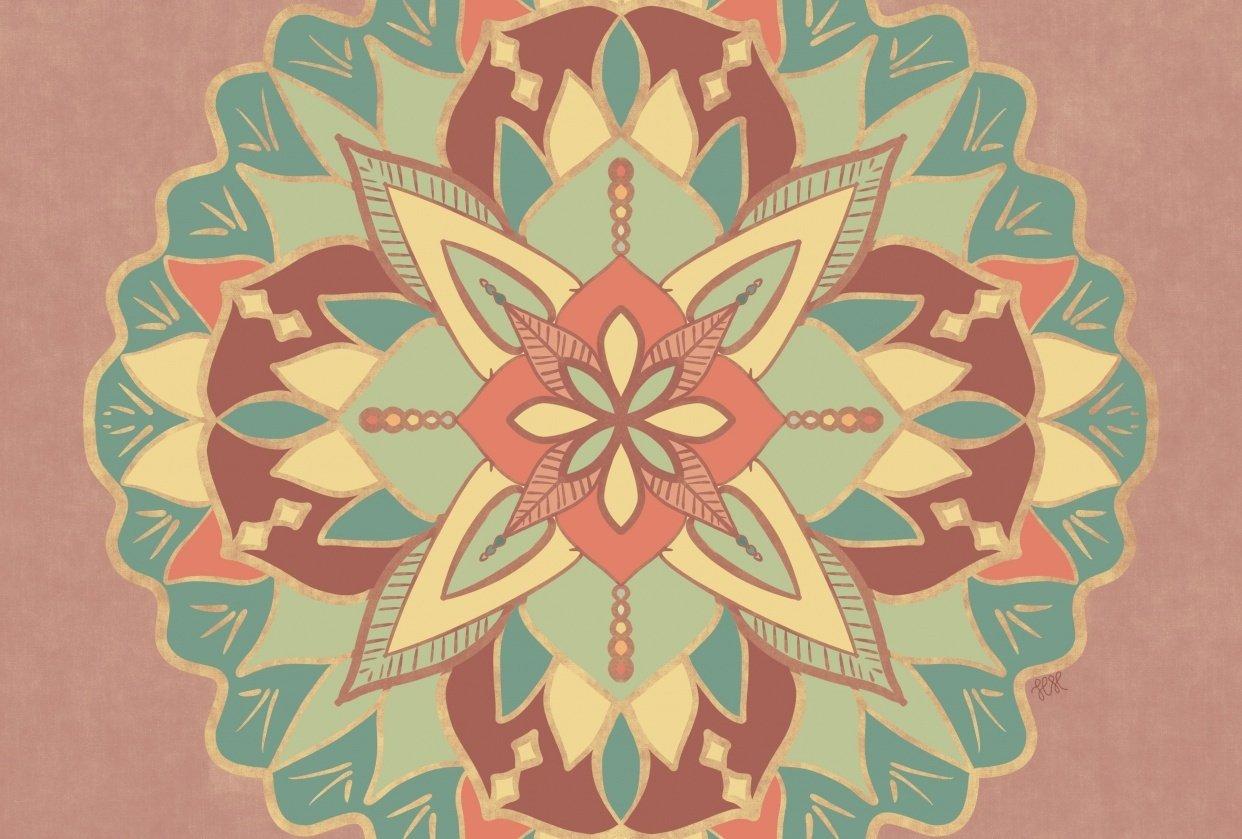 Mandala by Hannah - student project
