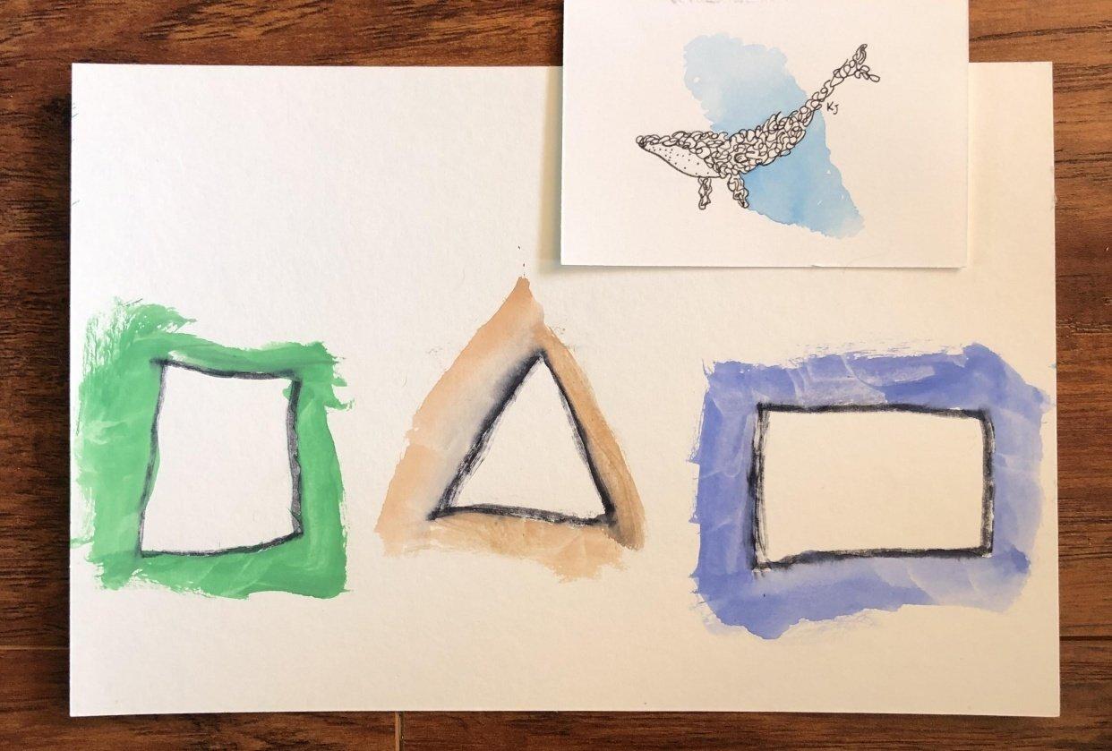 Watercolor Splash - student project