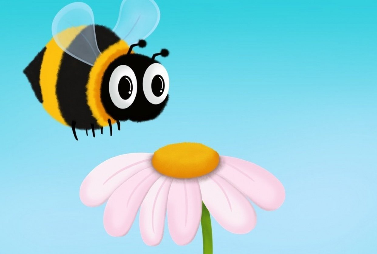 This Flower is Bee Approved - student project