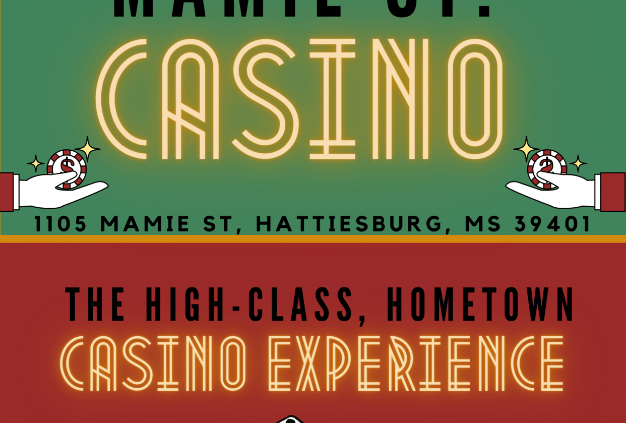 Casino Poster - student project