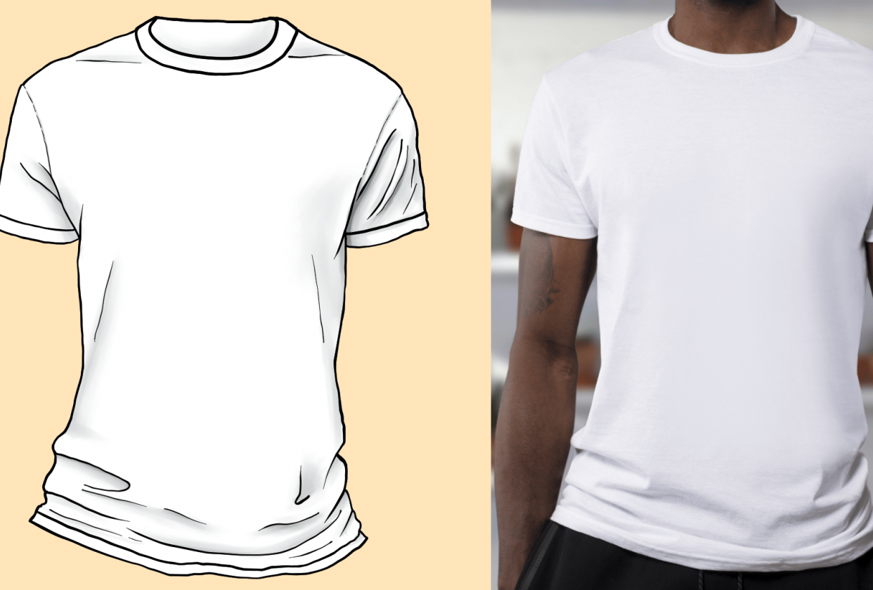 T-shirt practice - student project