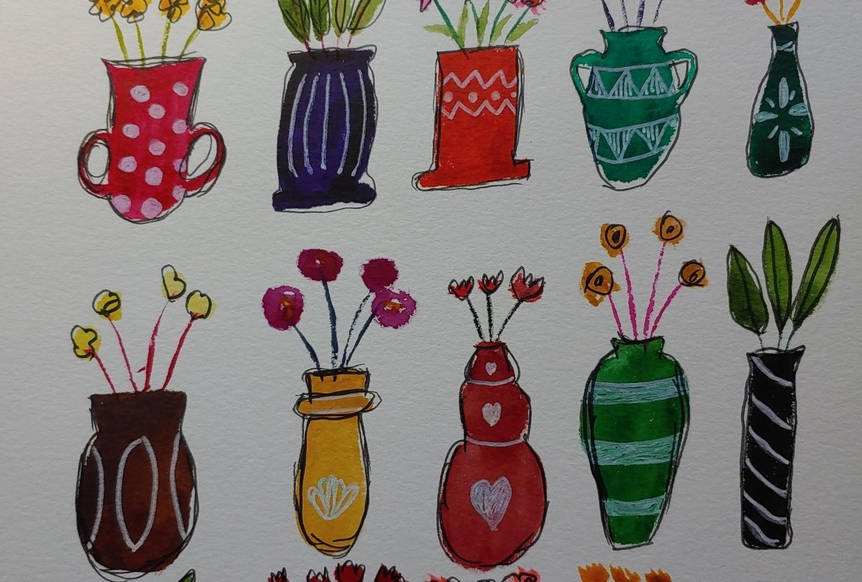 Fun Vases Exercise - student project