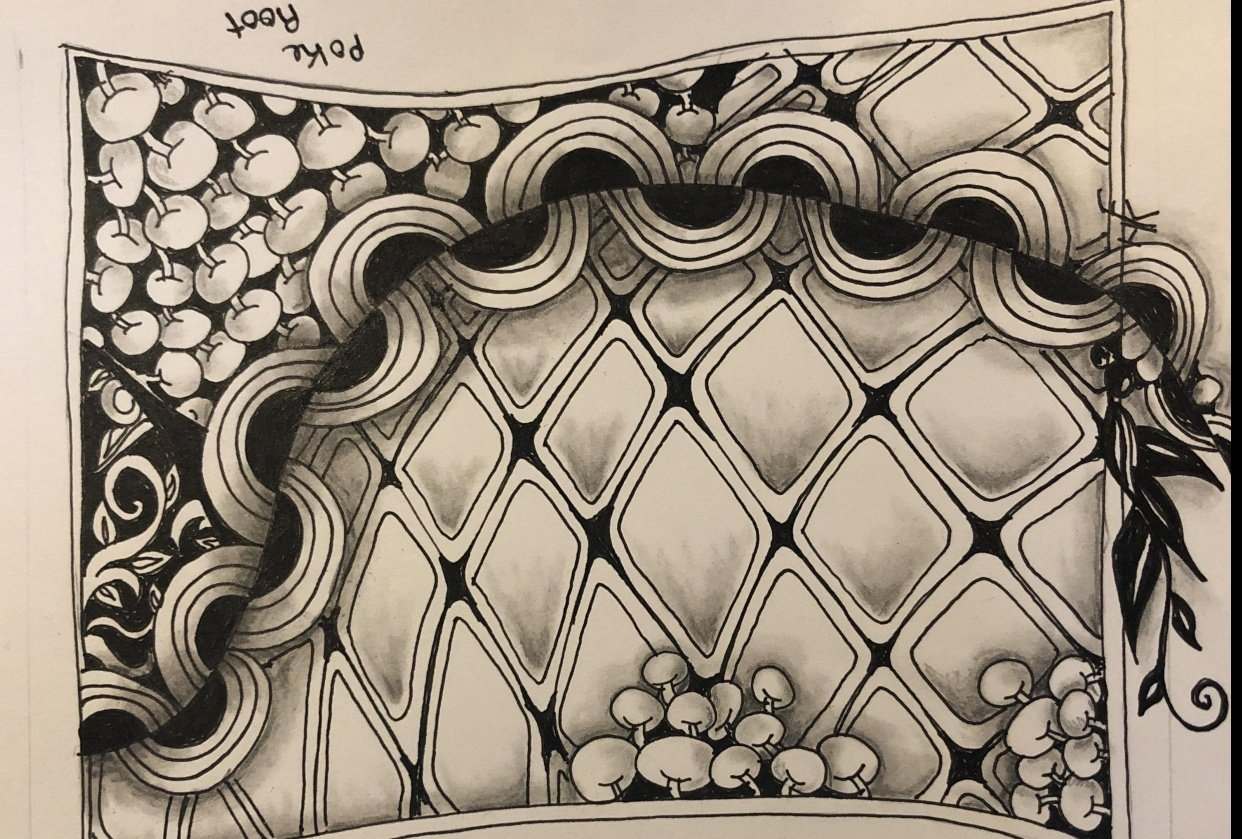 Second tangle - student project