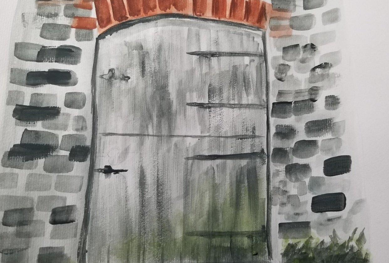 barn Door - student project