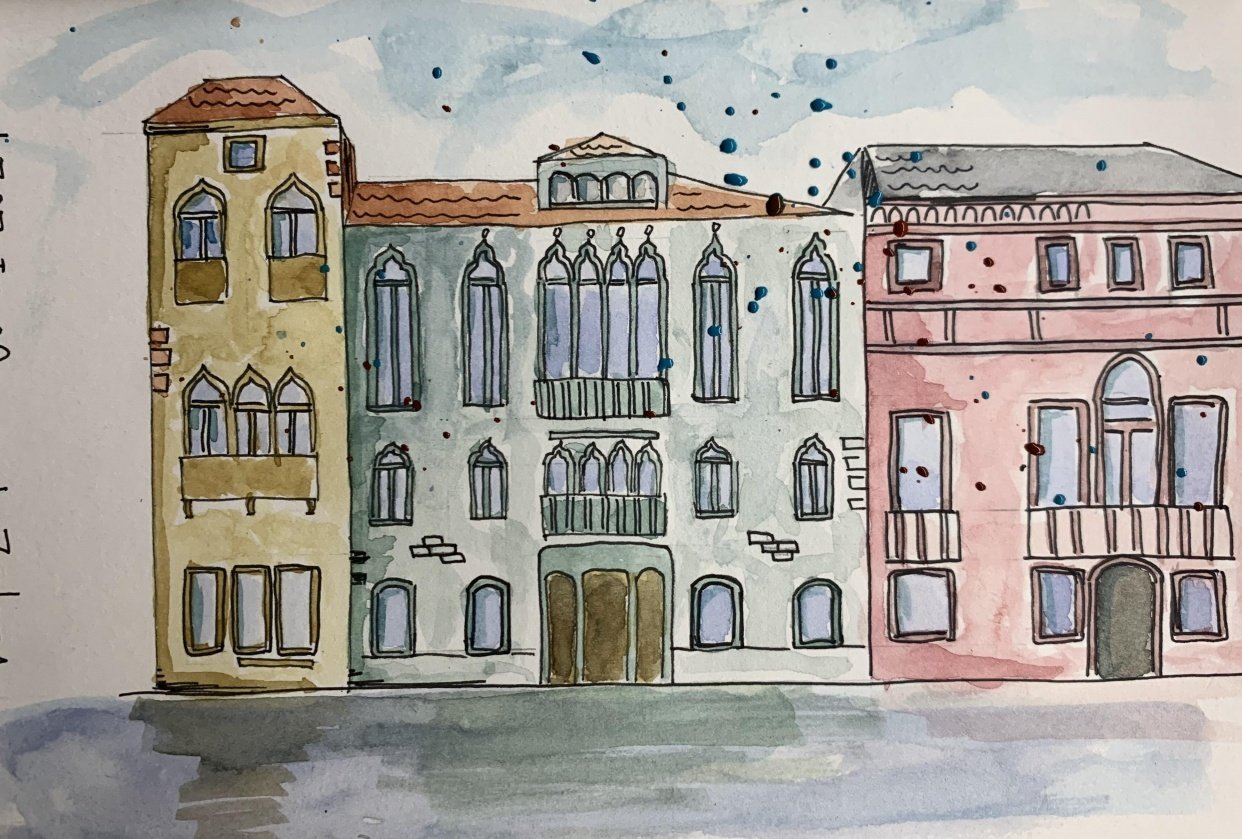 Urban sketching - VENICE - student project