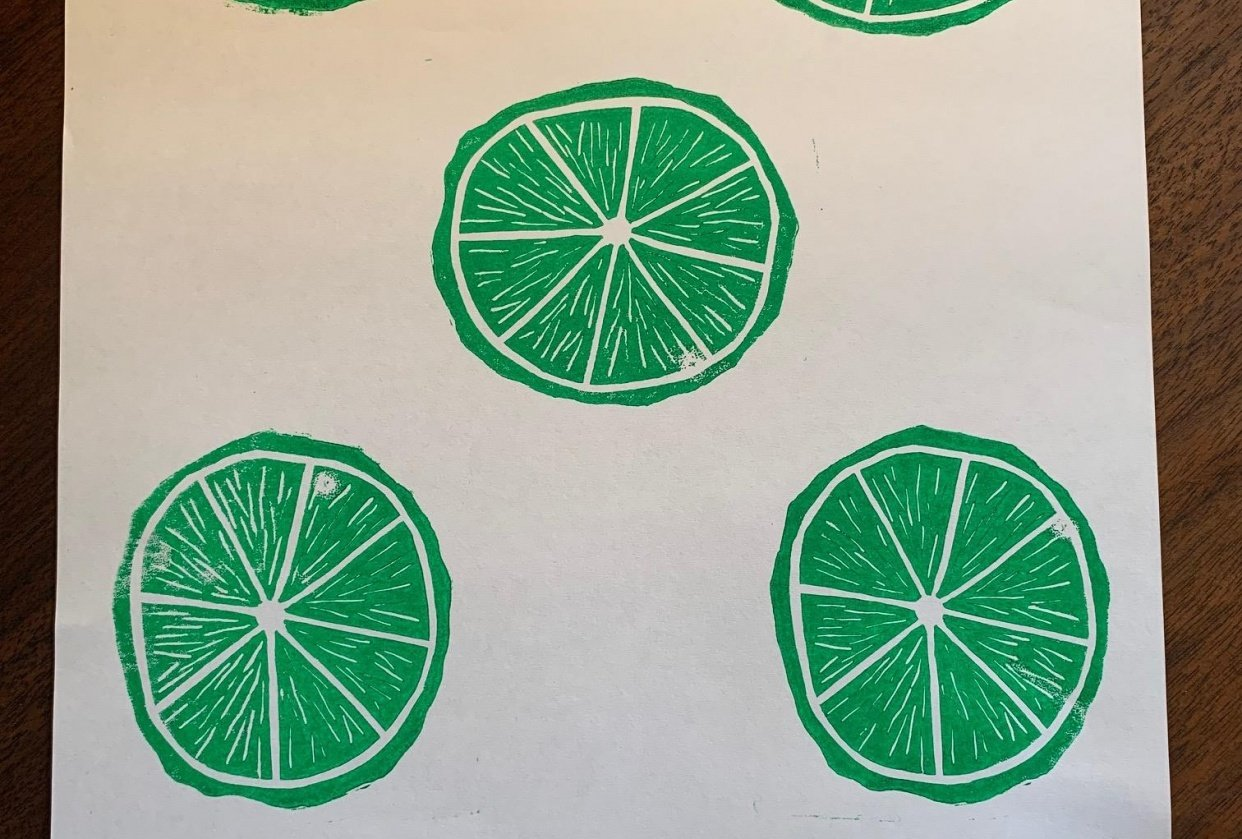 Limes on Lino - student project