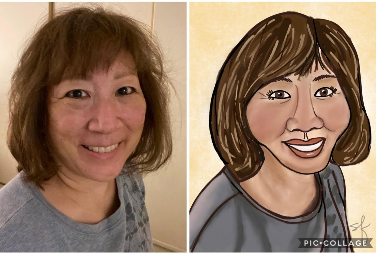 Caricature of Me - student project