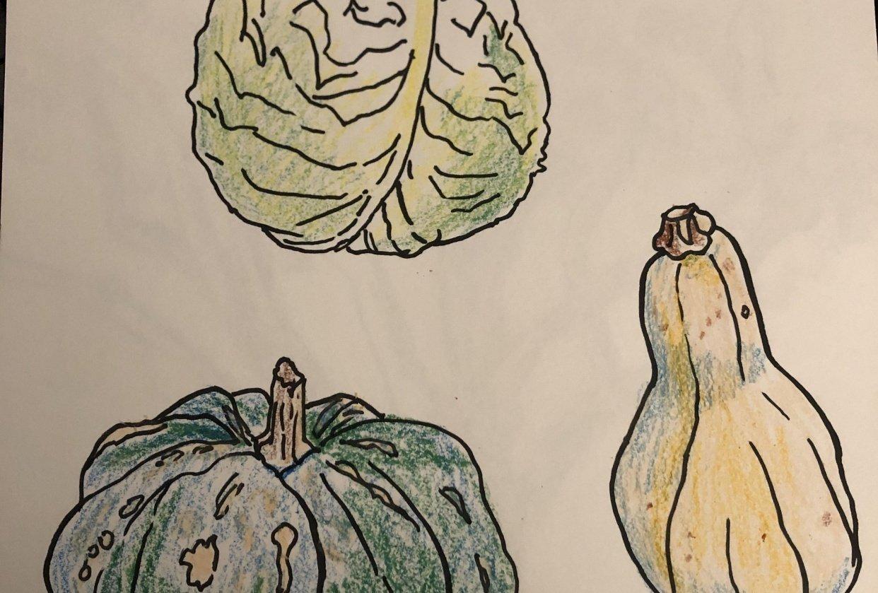 Veggies - student project