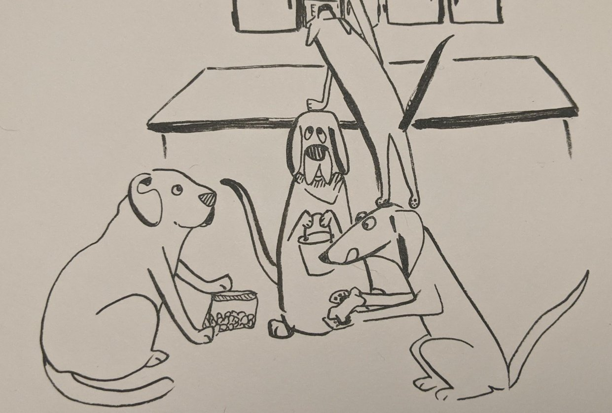 Scrounge Hounds - student project