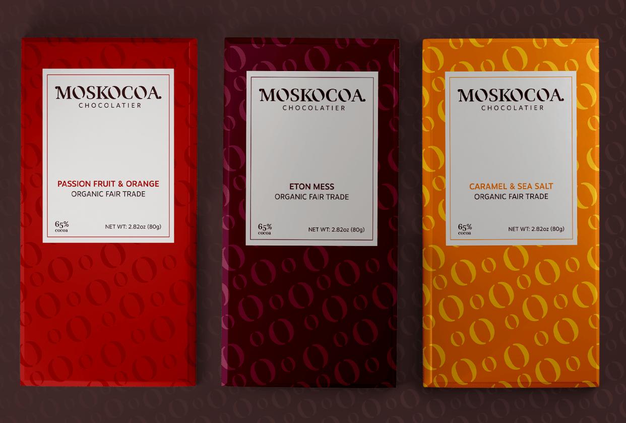 MOSKOCOA CHOCOLATIER - student project