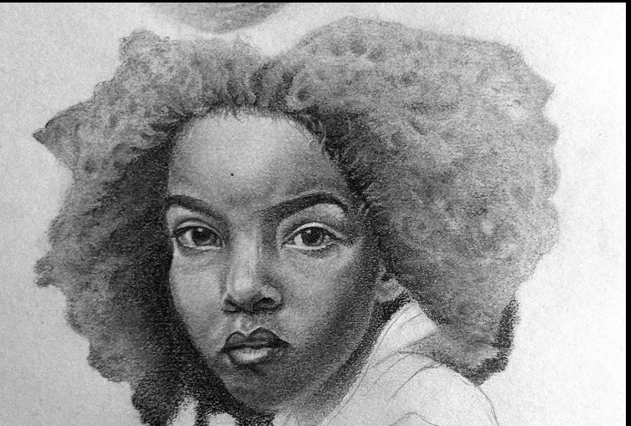 Pencil Portrait - practice - student project
