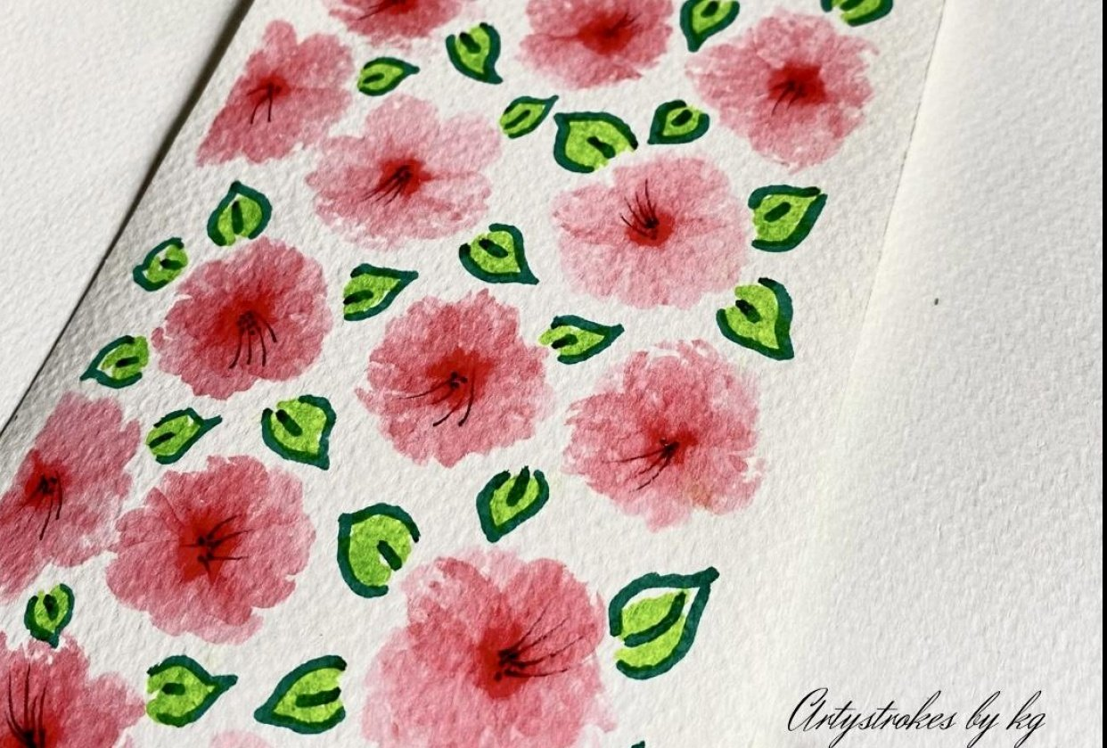 Floral Patterns - student project