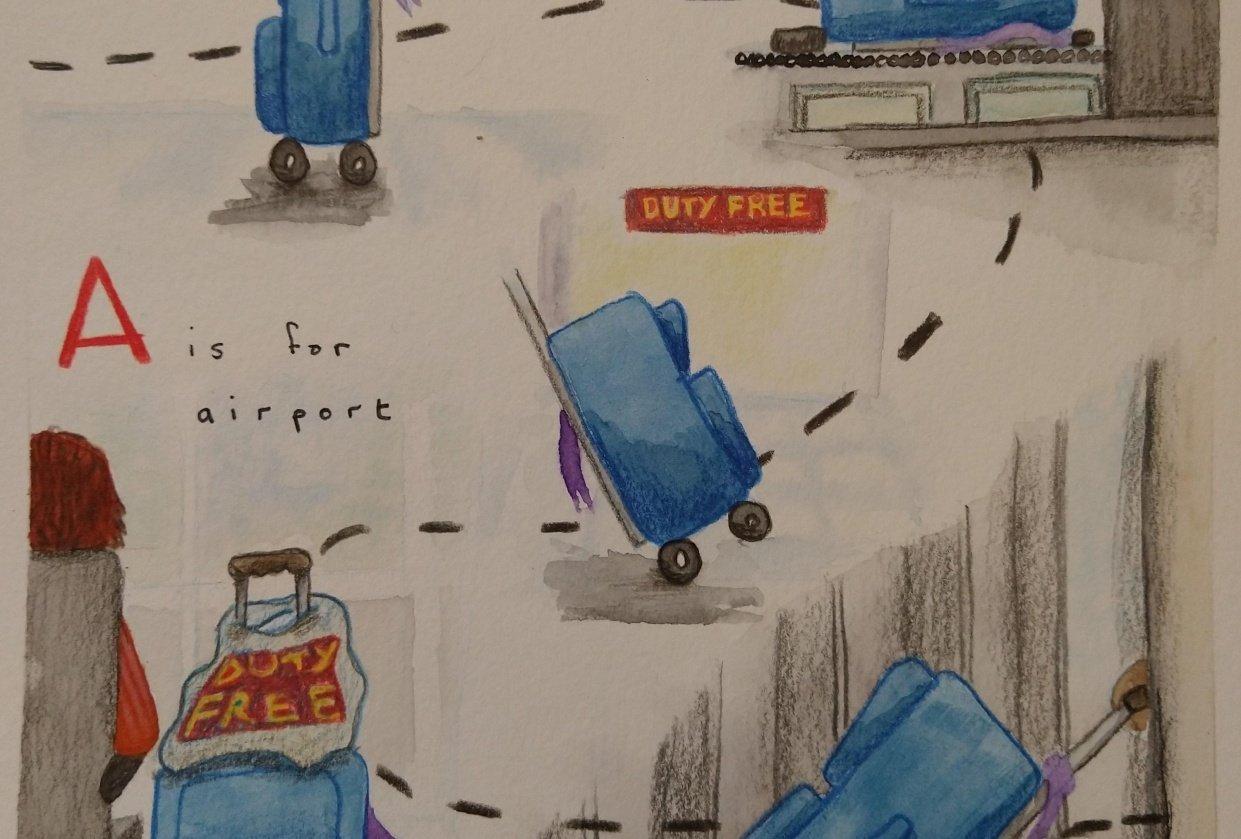 Inspiration Study - Oliver Jeffers - student project
