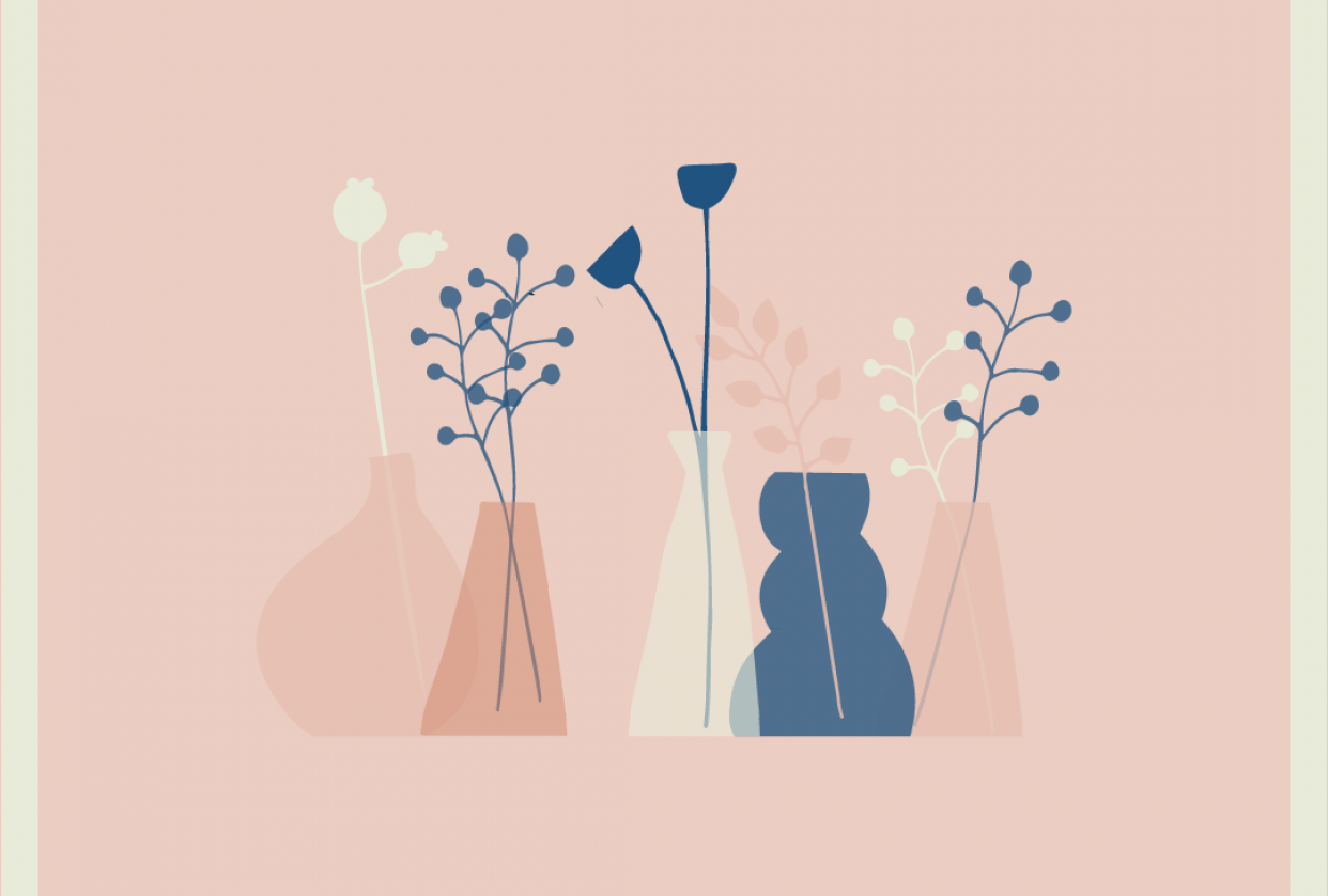 Flowers & color - student project