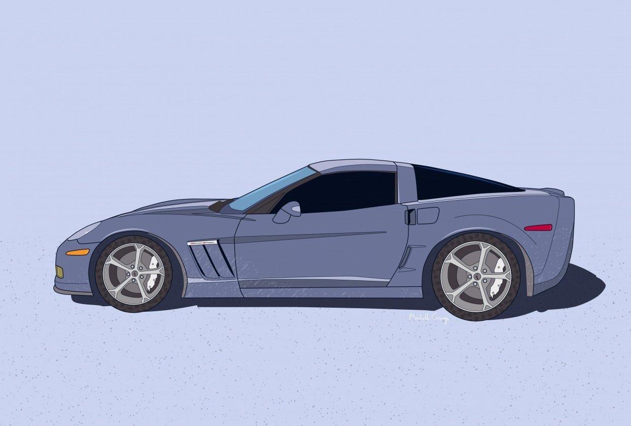 2011 Grand Sport Corvette - student project