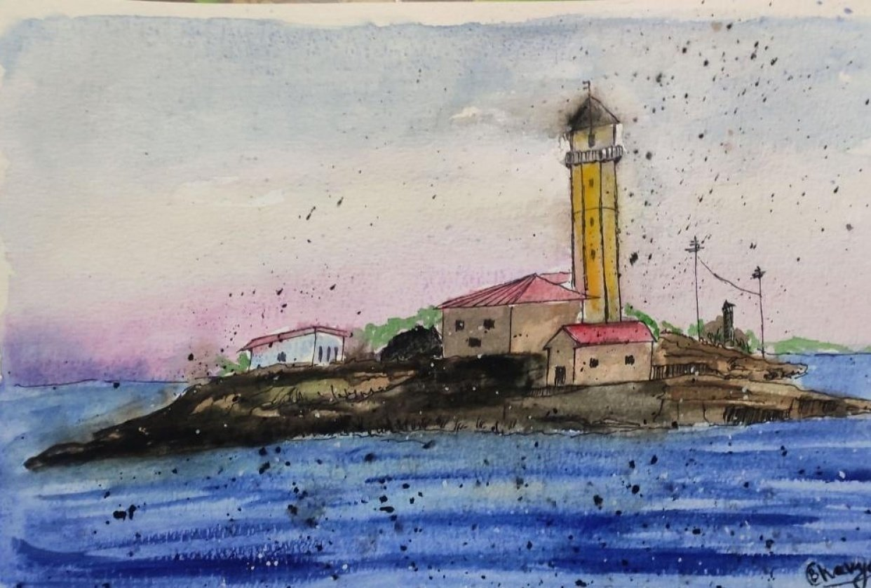 Beautiful Lighthouse - student project