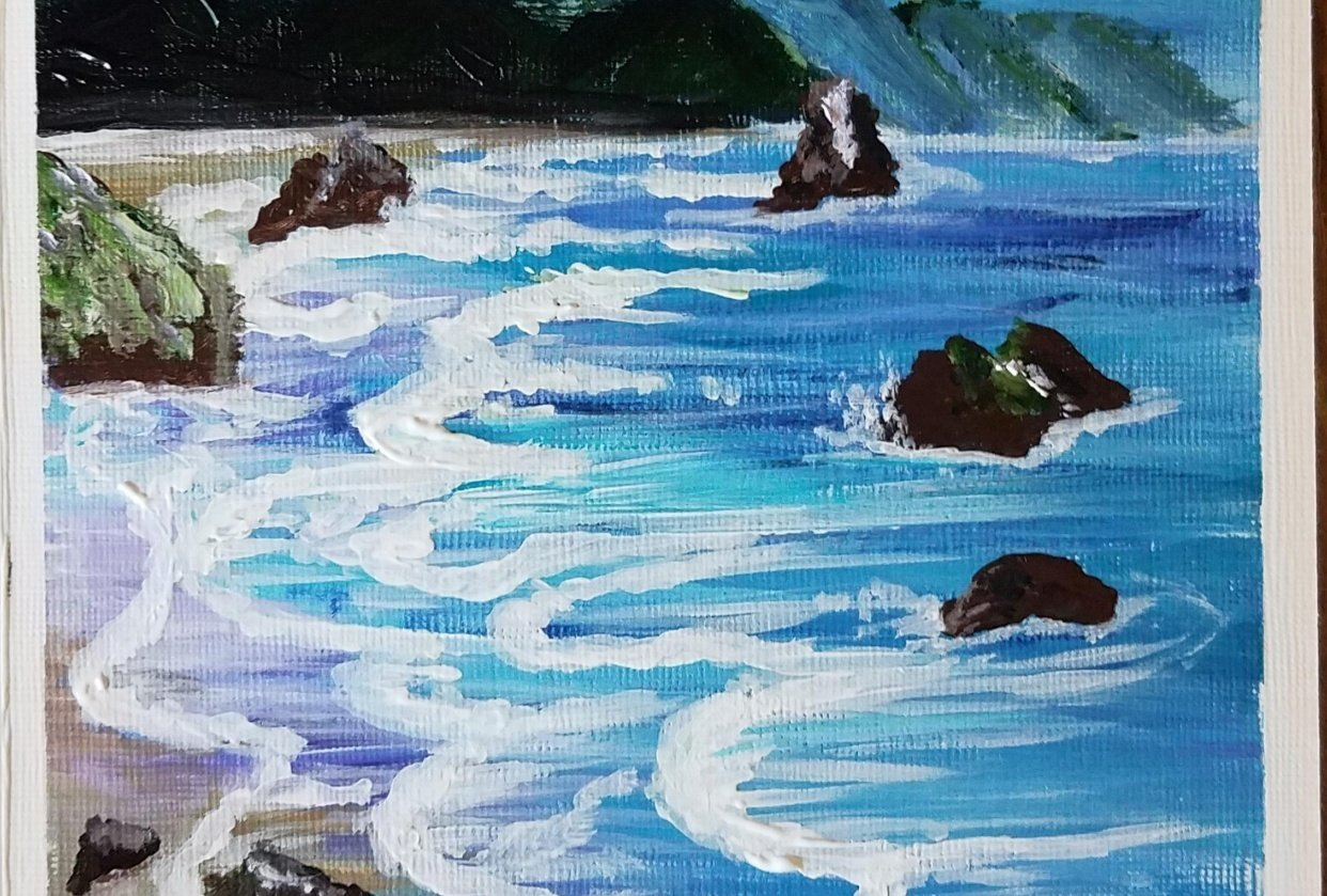 beachwave - student project