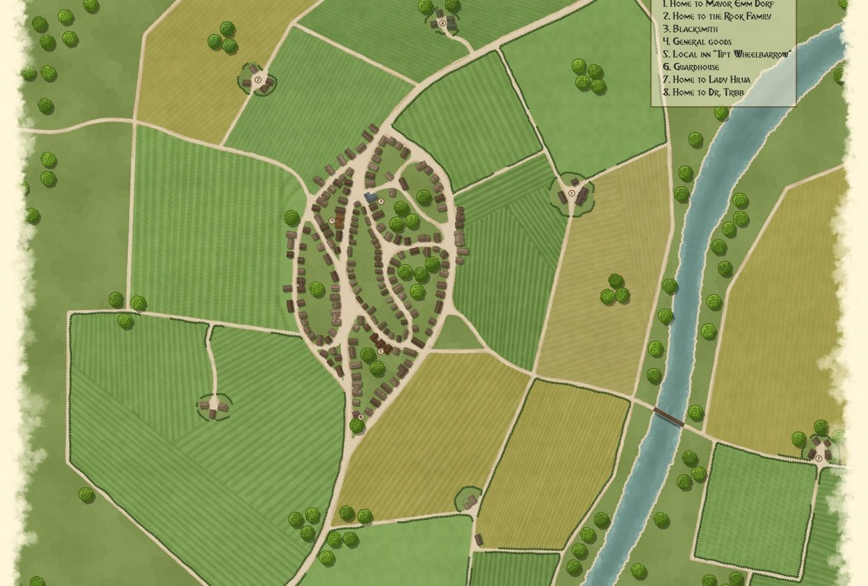 VILLAGE - Harphome - student project