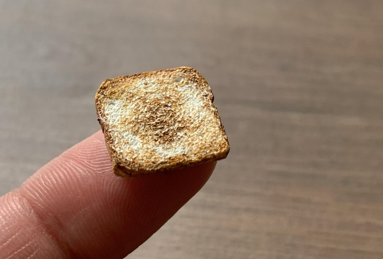 Polymer Clay Toast - student project