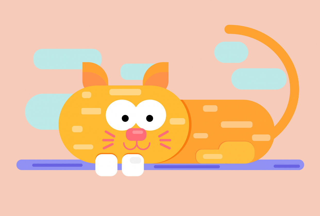 The cat - student project