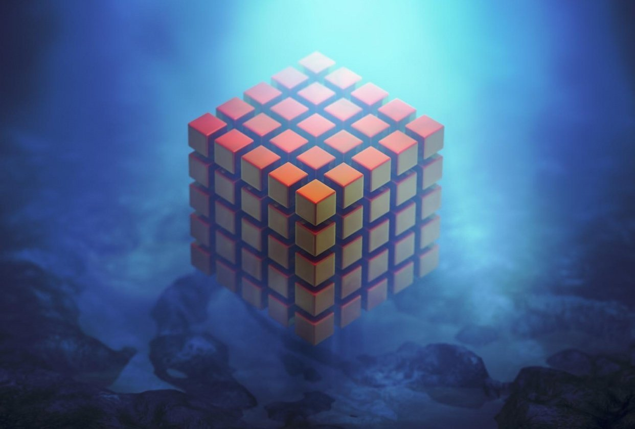 Cube - student project