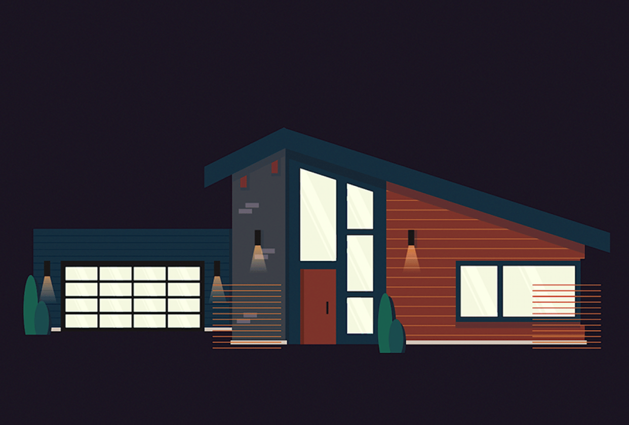 Modern House - student project