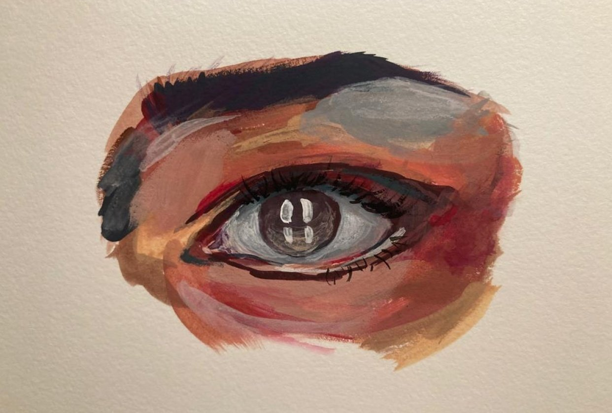 Getting into Gouache - student project