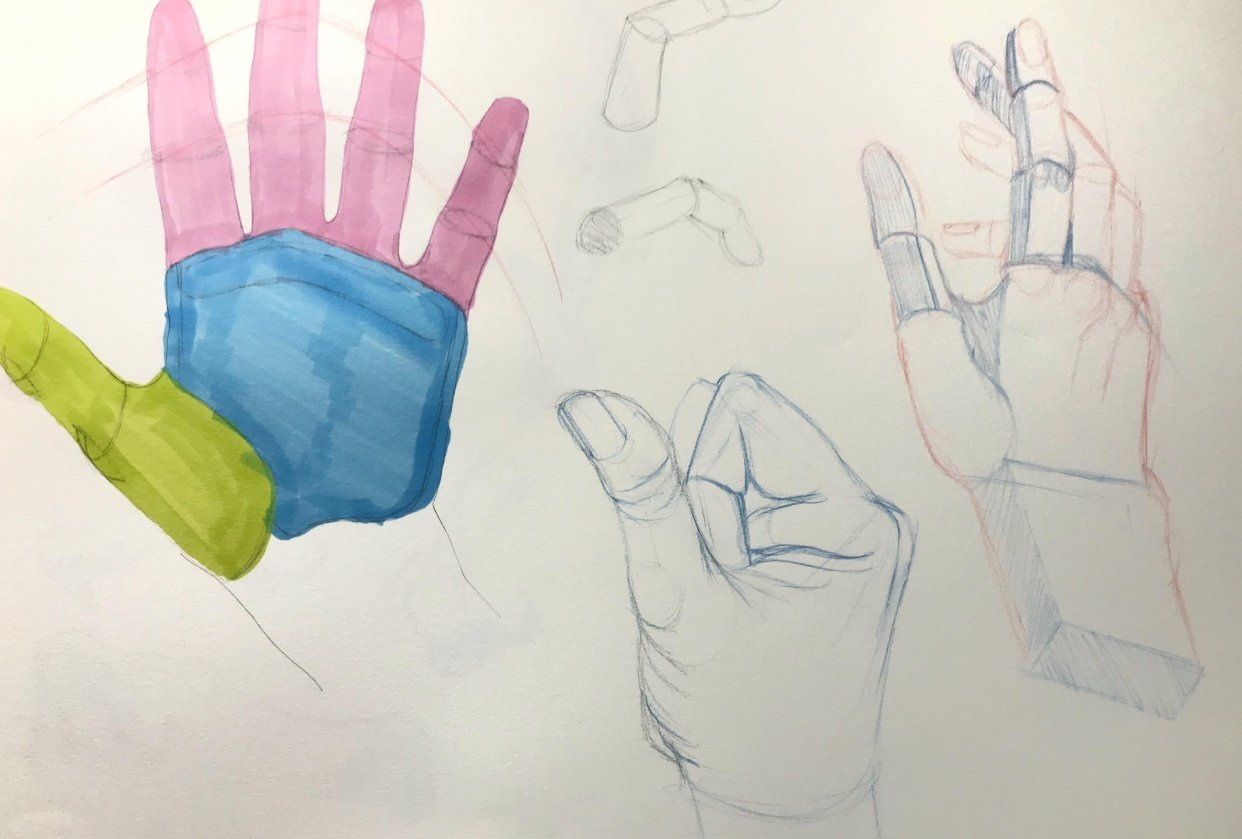 More hands - student project