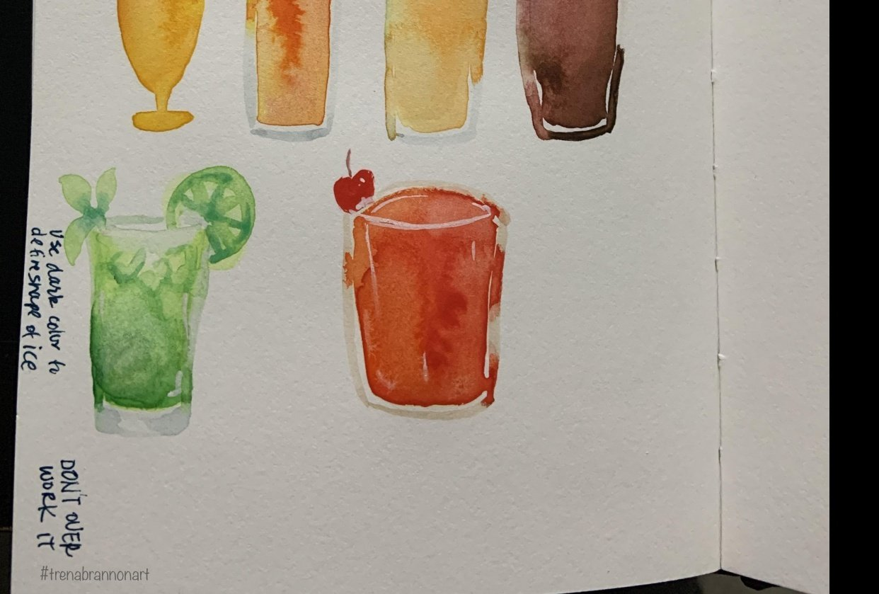 Drink Practice - student project