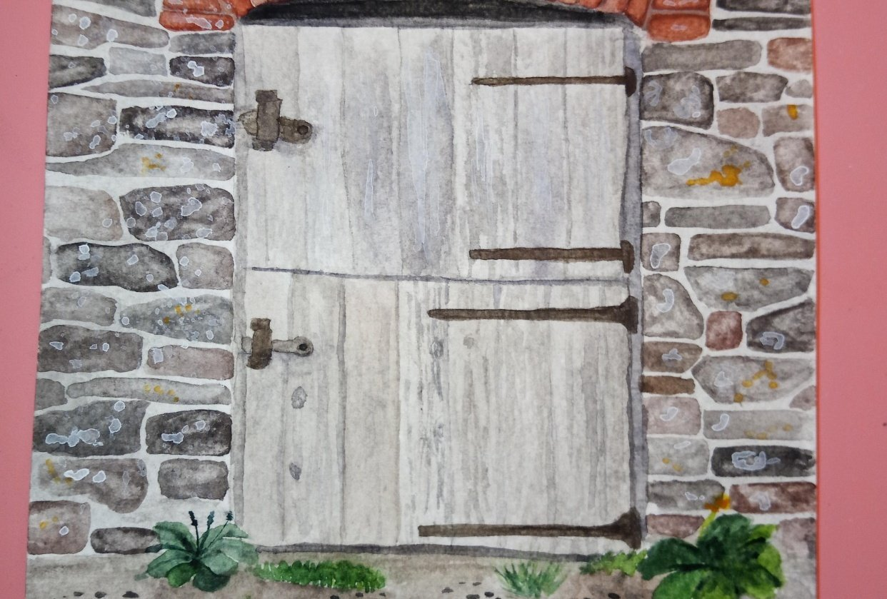 Barn Door first attempt - student project