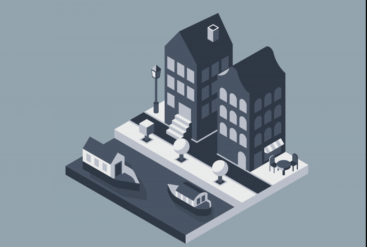 Isometric design - student project