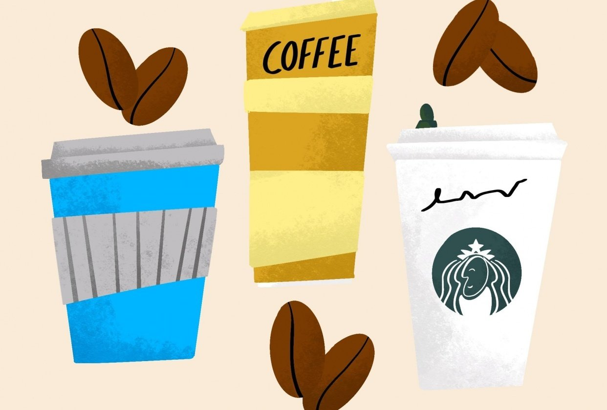 Everything Coffee - student project
