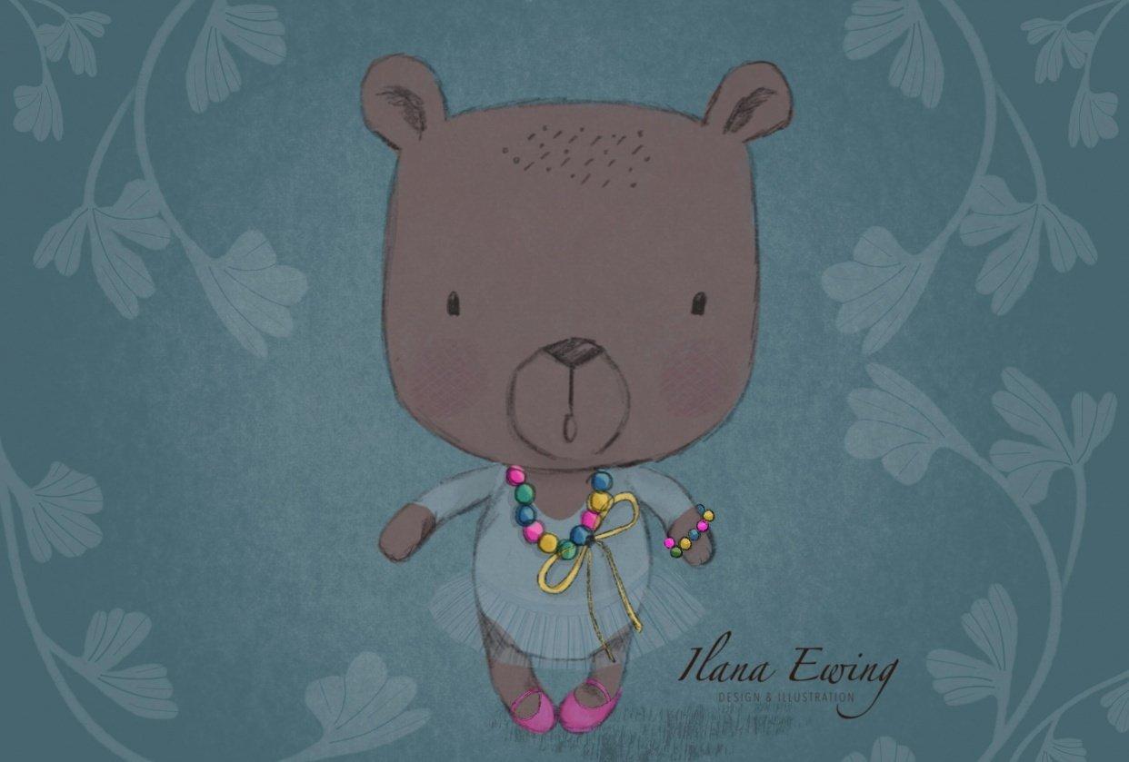 Ballerina Bear - by Ilana Ewing - student project