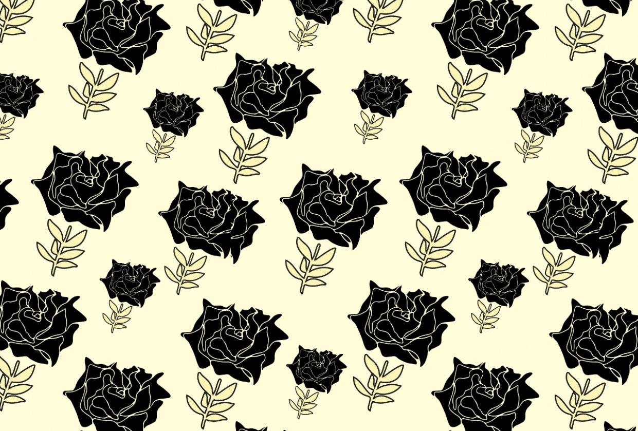 Dramatic Roses - student project