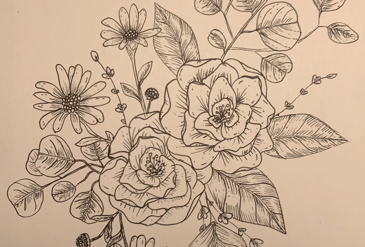flower - student project
