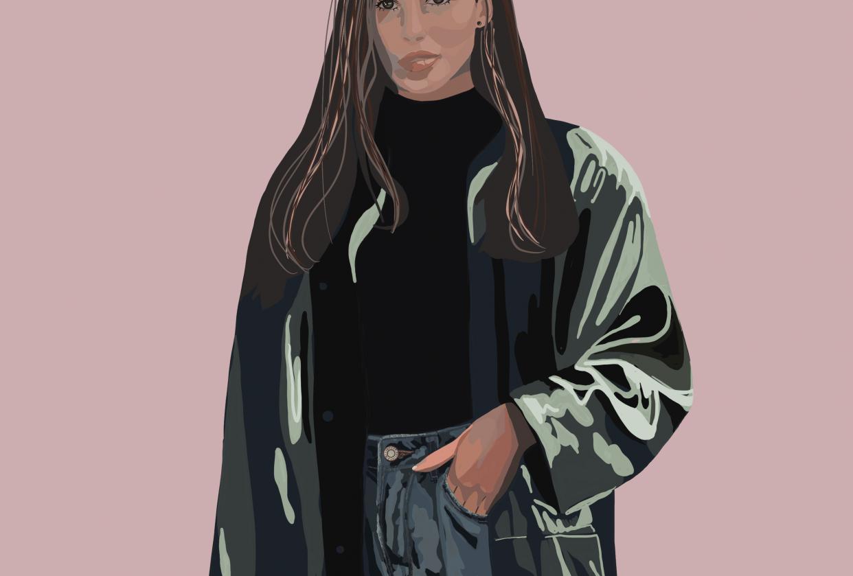 Digital portrait - student project