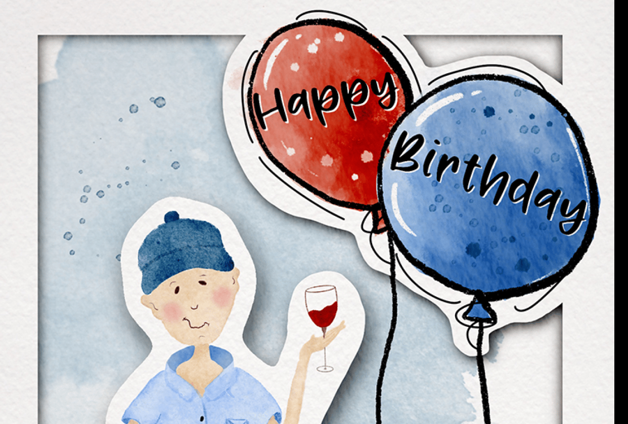 Birthday card - student project