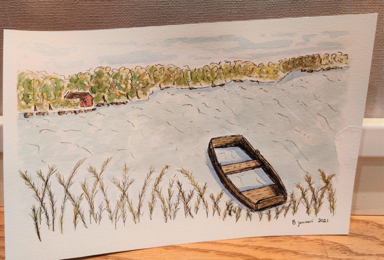 Swedish landscape - student project