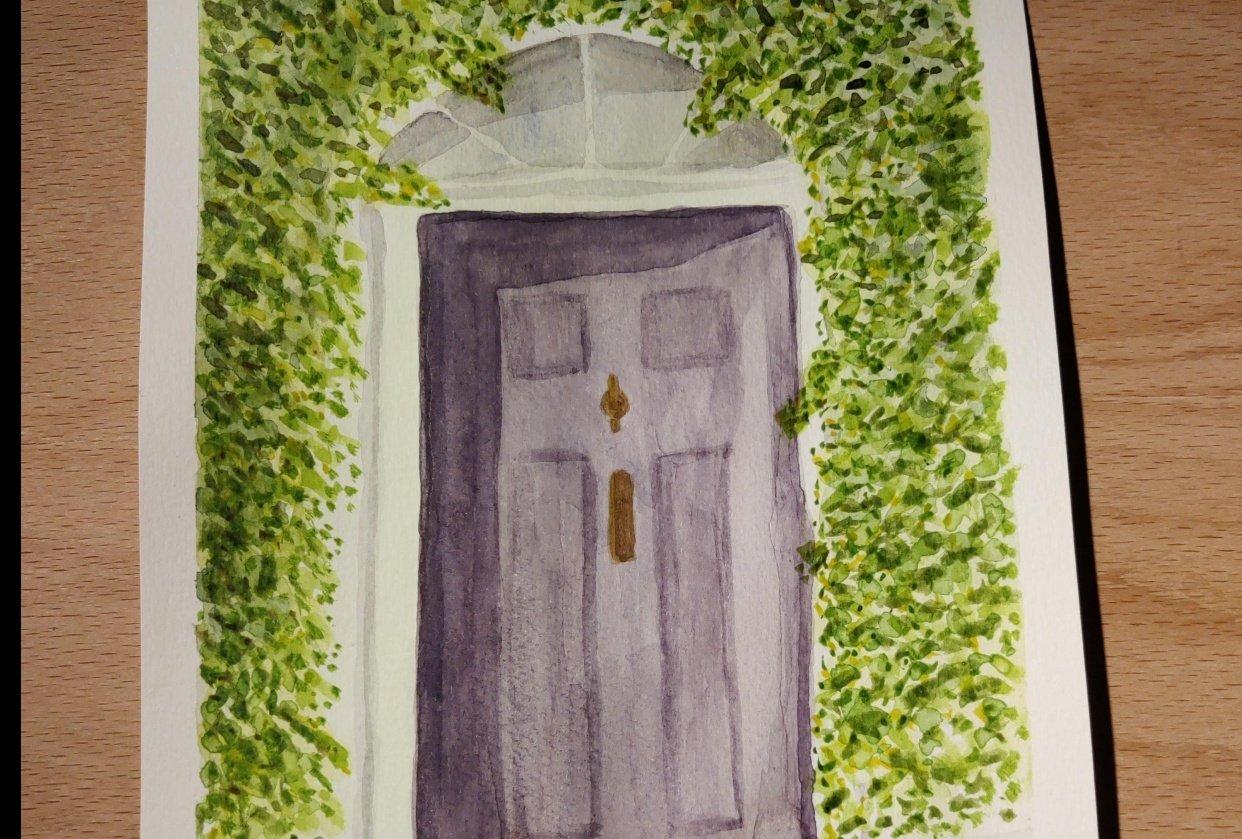 Purple door - student project