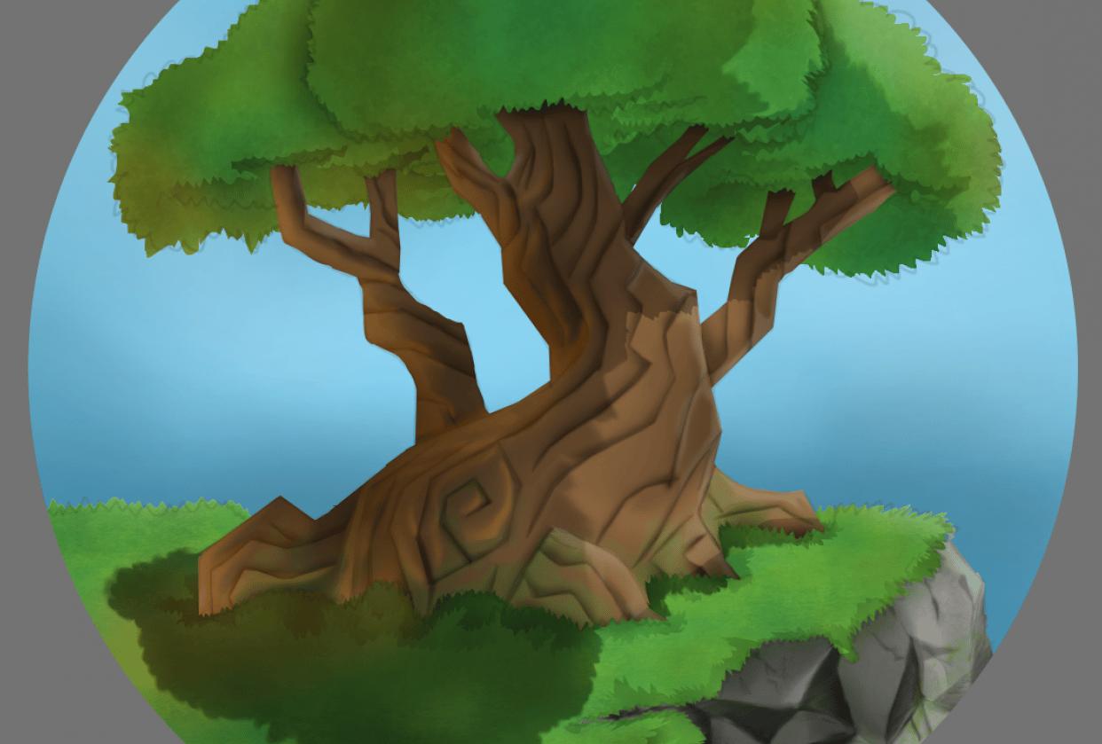 Skull & Tree - student project